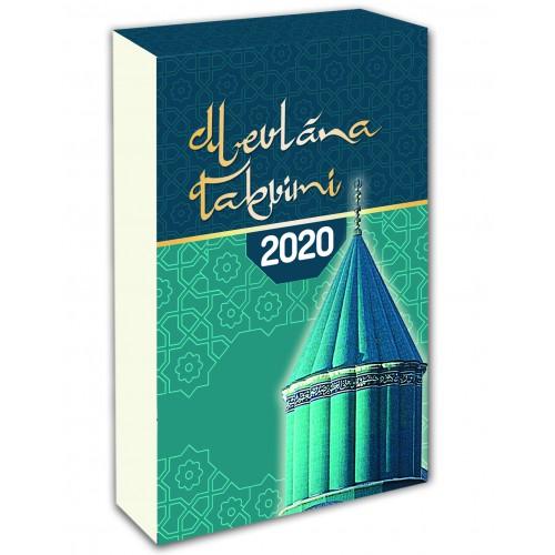 MEVLANA TAKVİMİ 2020 DİK BLOK TAKVİM