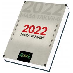 Masa Takvimi 2022
